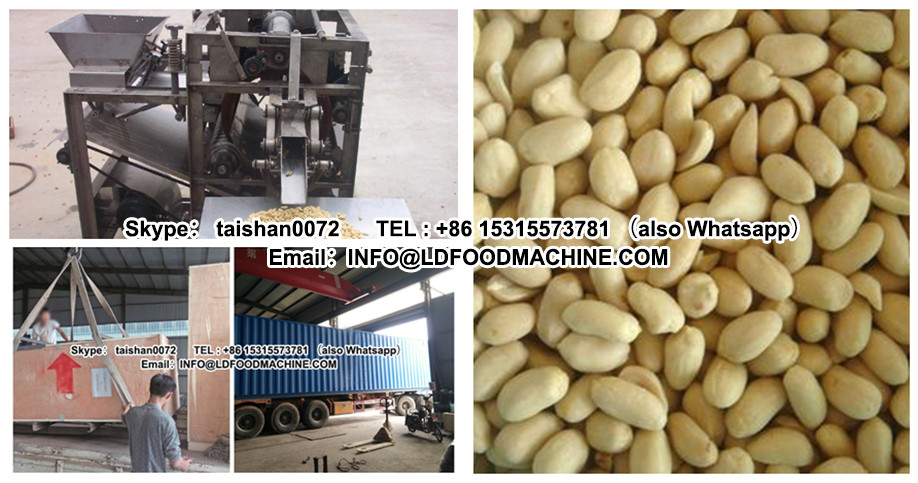The hot selling of groundnut shell removing machinery