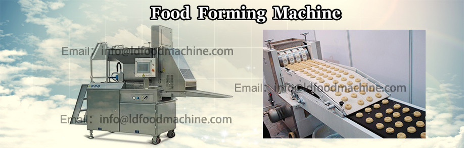The latest Technology automatic fish nugget	make machinery