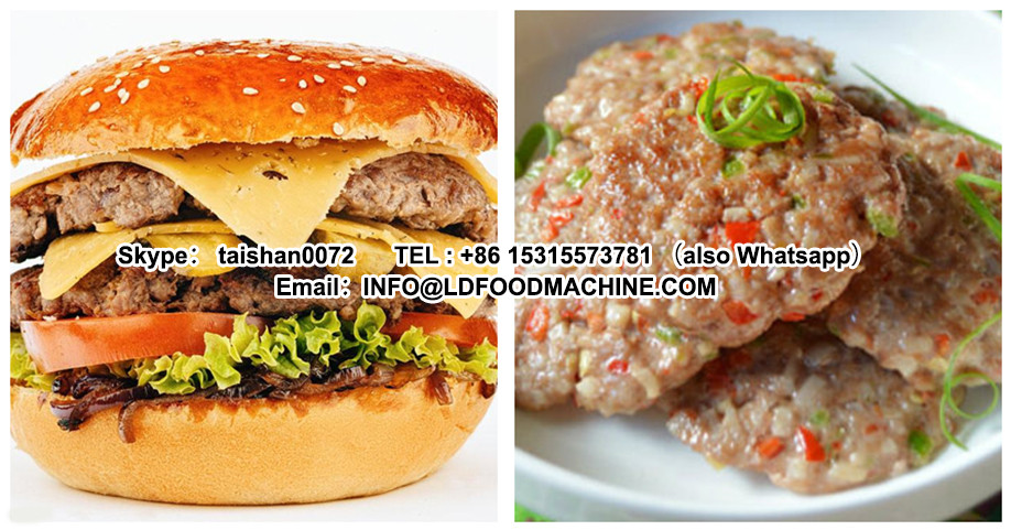 commercial automatic hamburger Patty make machinery