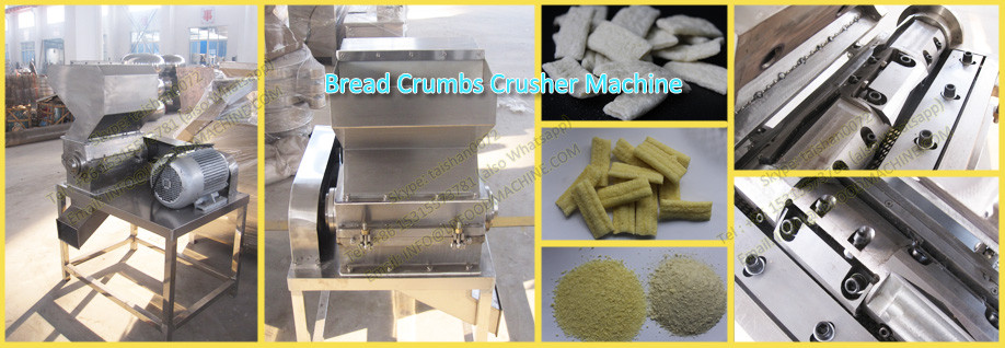 Automatic dry bread crumbs machinery plant