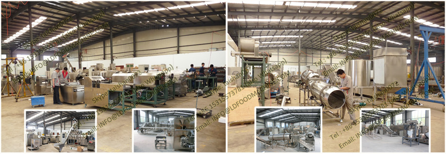 Industrial pet dog food make machinery