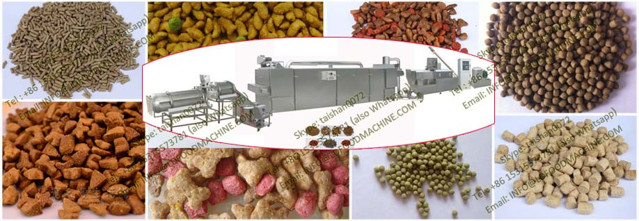 Stainless Steel Double Screw Dog Food make Extruder