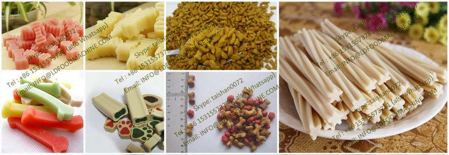 Big Capacity Pet Food Production machinery/Pet Feed Extruder