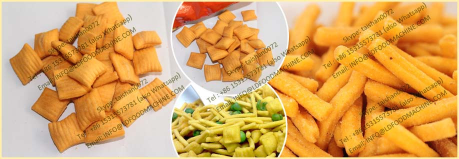 High quality  machinery for 3d pellets snacks