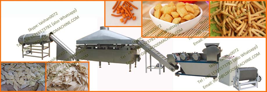 Extruded crisp Fried Flour Chips production line