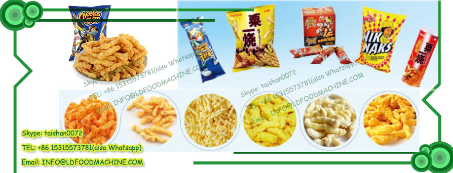 Fried cheetos /cheese curls/ kurkure maize extruder manufactures
