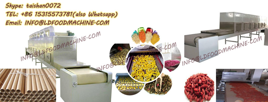 Microwave Vacuum Dryer for sugar with good drying effect