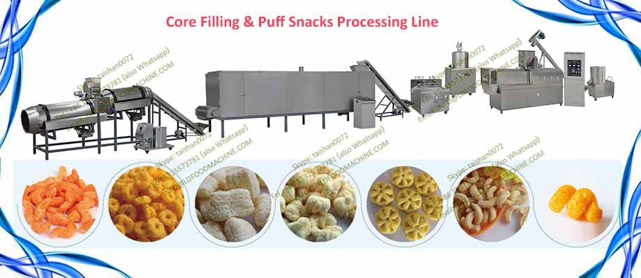 Corn Chips Manufacturing machinerys Bo107