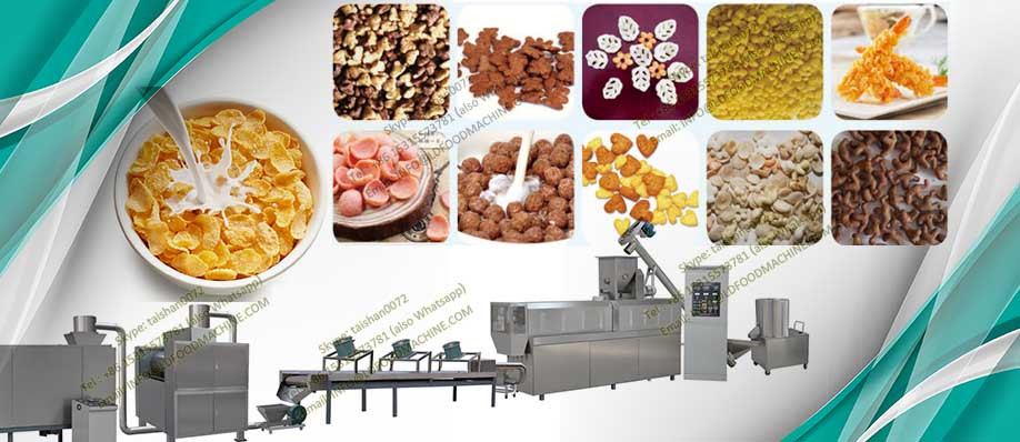 Breakfast Cereal Corn Flake Processing Line, Breakfast Cereal Manufacture