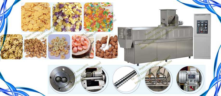 100-300kg/h Automatic breakfast Corn flakes production line
