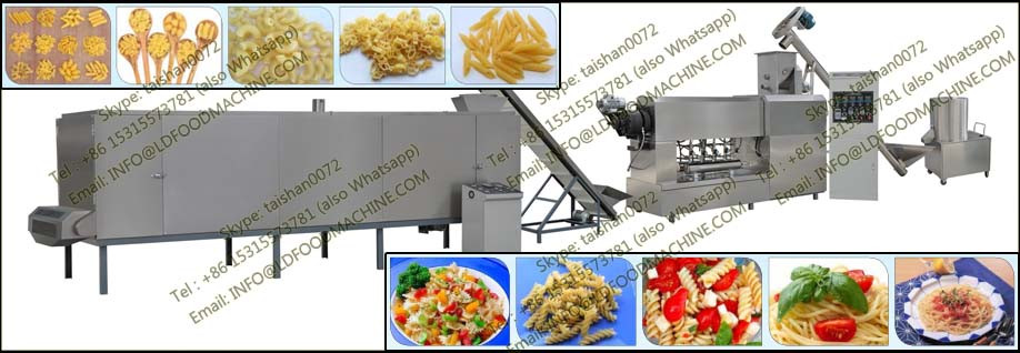 Automatic stainless steel Italia Pasta Food extruder/make machinery