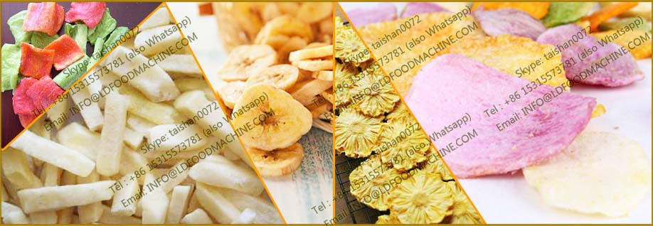 Mini Scale potato chips Frying/Seasoning machinerys/Finishing Line