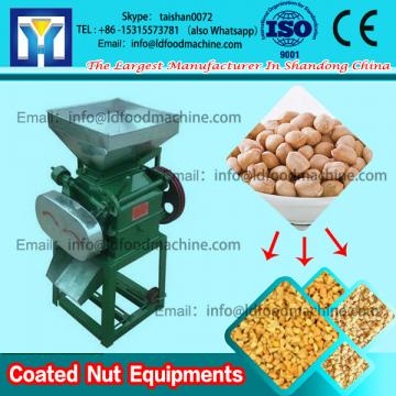 peanut snack chocolate coating machinery