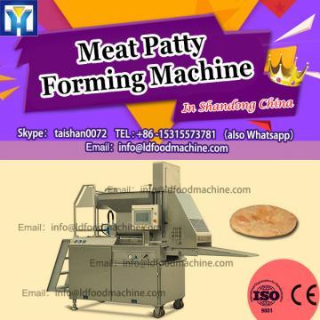 Automatic Halal Chicken Beef Fish Shrimp Meat Burger Patty make machinery