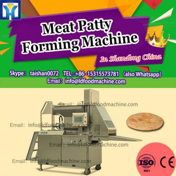 100kg/h Hamburger make machinery / hamburger forming machinery