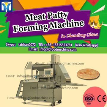 Mini automatic burger Patty make machinery, hamburger maker