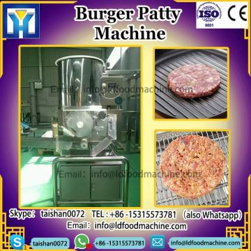 Hamburger burger Patty forming make processing machinery
