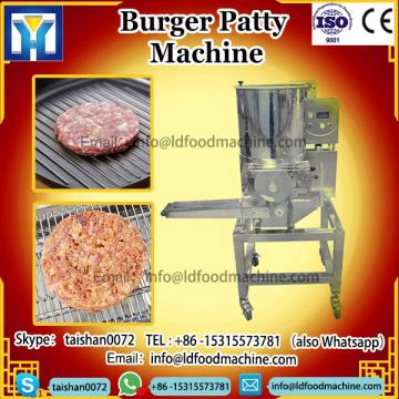 Automatic Meat Veggie Vegetable Halal Hamburger machinery