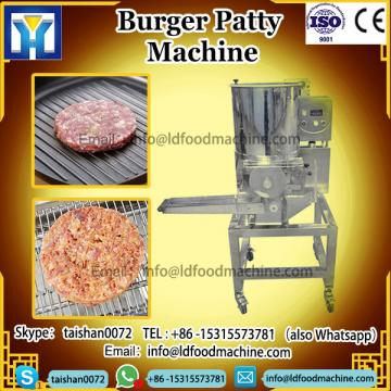 automatic different shapes burger Patty frying machinery