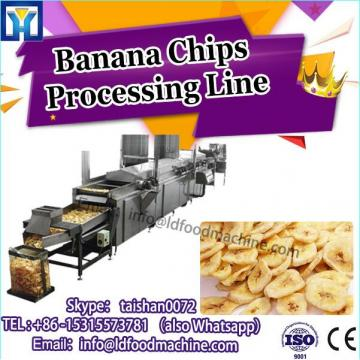 50kg/h Banana/paintn/Cassava/Potato Chips make Plant For Sale