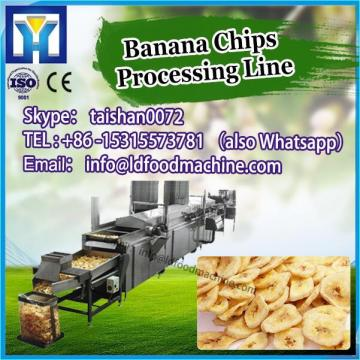 100KG/H Gas And Electric Heat Way paintn Potato Banana Chips Line Production Line
