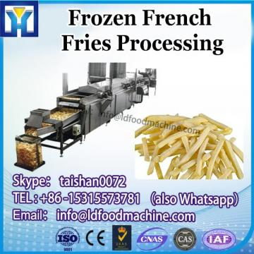 300-2000kgh High quality China Supplier Automatic Factory Potato Frozen French fries line