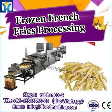 L Capacity potato chips production line / frozen french fries production line for frozen potato machinery