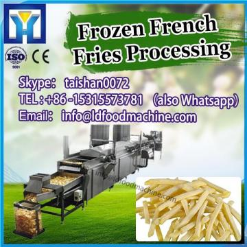 1000kg/h fully automatic frozen french fries plant production line