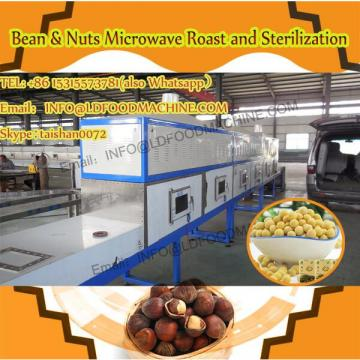 Stainless steel macadamia nuts microwave industrial baking&puffing equipment