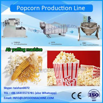 america Technology hot air continuous flavored popcorn machinery gas popcorn machinery