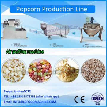 Hot sell industrial hot air tech flavored popcorn kernels popper machinery