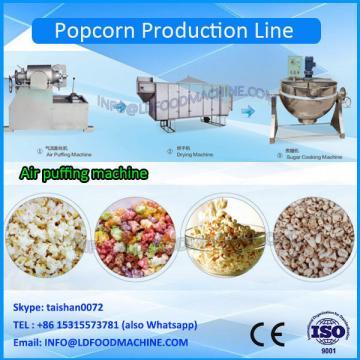 US tech hot air popcorn caramel batch processing plant
