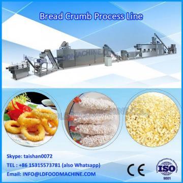 Panko bread crumbs process extruder machine