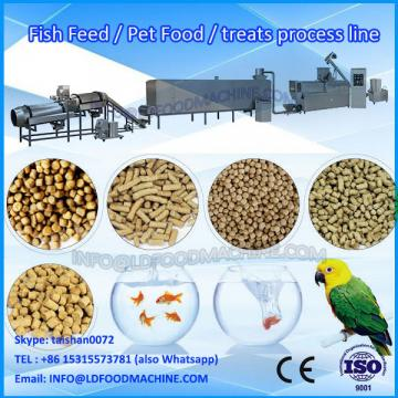 Automatic dry extruder kibble pet food machinery
