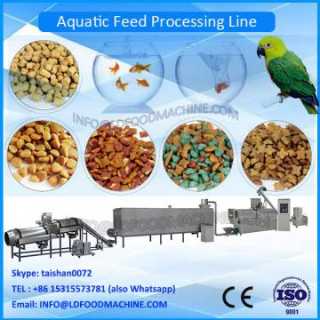 Floating fish feed pellet machinery with 300kg/h