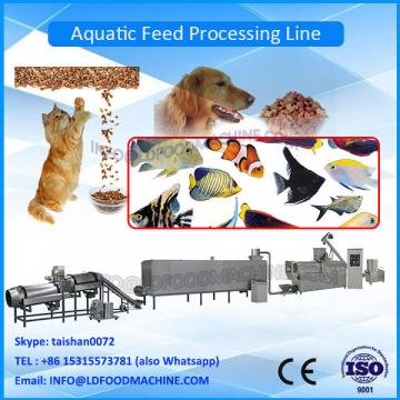 wet LLDe aquacuLDure floating sinLD fish feed extruder with rotate cutter
