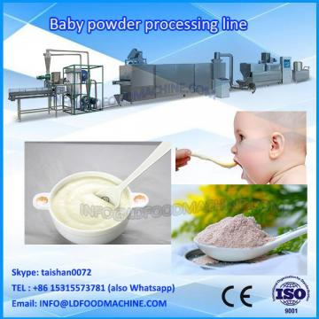 Extruded instant nutritiona powder/Instant rice flour baby food make machinery/production line/