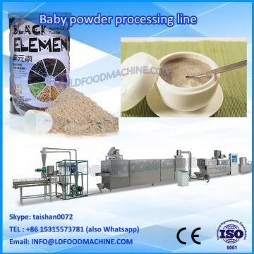 nutrition instant baby rice powder double screw extruder make machinery