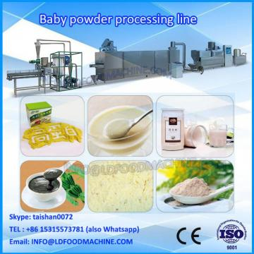 Extruded instant baby powder processing