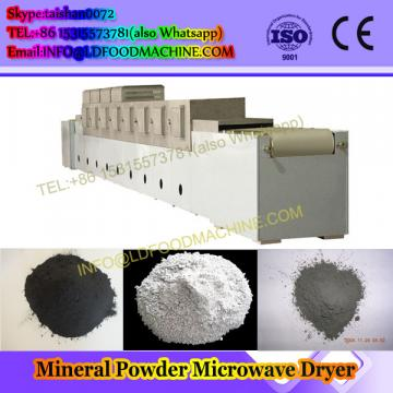 Garlic powder slice microwave fast drying sterilizing equipment
