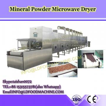 Industrial dehydrator equipment tunnel type microwave drying and sterilizing oven for spices powder