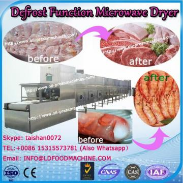 chemical Defrost Function industry microwave vacuum drying machine