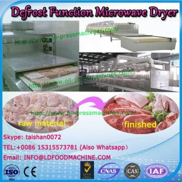 Food Defrost Function Processing Machinery microwave dewatering belt dryer