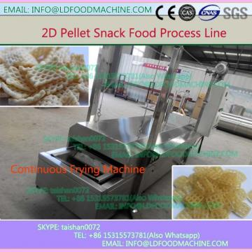 Automatic 2D Panipuri Golgappa Snack Pellets Golgappa Fryums Extruder make machinery