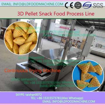 Pani puri snack machinery/3D pellet snack production line factory price