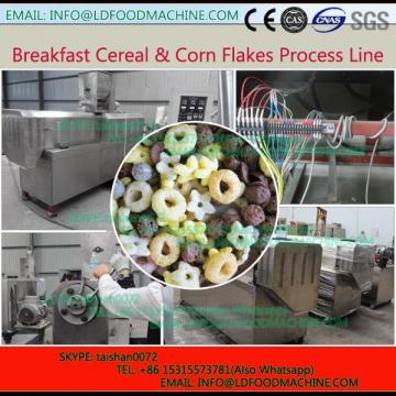 Automatic Corn flakes snack extruder puffed snack make machinery