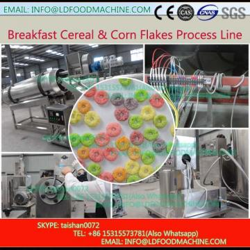 popular corn flakes production line rice snack crust make machinery