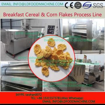 Cheap stain steel corn flakes drying machinery/corn flakes packaging machinery