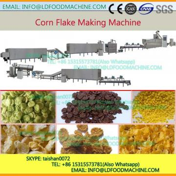 Latest Desity Cereal Corn Flakes Corn Pops Maker machinery