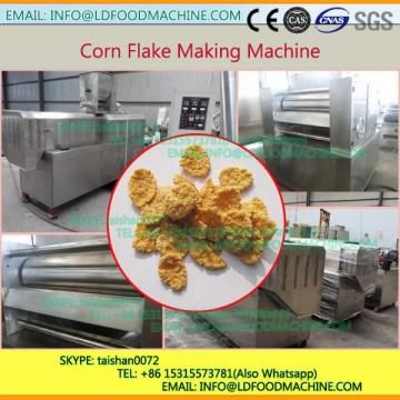 Automatic Twin Screw Extruder Breakfast Cereal Corn Flakes make machinery With Competive Price